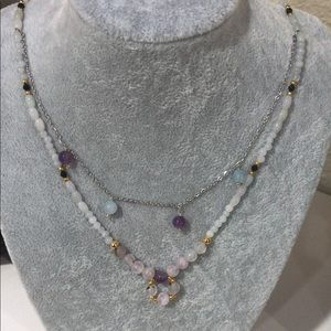 handmade natural gemstone necklace